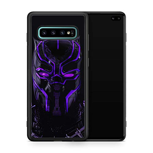 Inspired by Black Panther Samsung Galaxy S8 S9 Plus S10 S10e S10 Plus Case Hero Comics African Superhero Galaxy Case Wakanda Logo M249