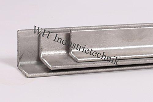Winkelstahl Edelstahl Winkel V2A 1.4301 schweißbar bis 2000 mm Länge (40x40x4mm, Länge 1000mm)
