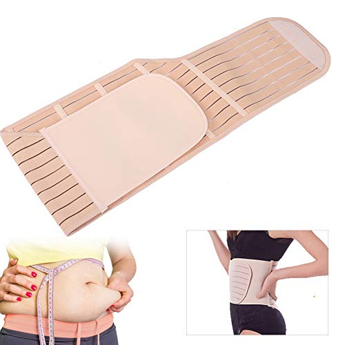 Modelador pós-parto de cinto, feminino, pós-parto, pós-parto, pós-natal, modelador de corpo, suporte, pulseira, modelador de corpo, respirável, cinta modeladora de cintura para grávida, maternidade, modelador corporal (G)