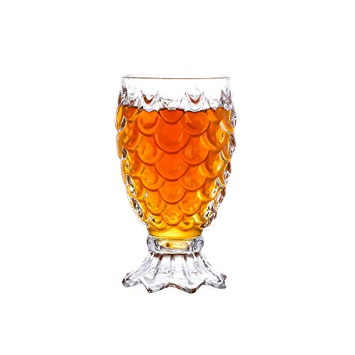Taza de cerveza de cristal de alta calidad, para bares, restaurantes, fiestas (color: transparente1)