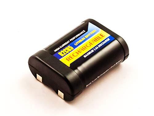 eVendix Akku kompatibel mit Canon EOS 1000F 6,00 Volt 500 mAh 3,00 Wh Li-Ion Akku