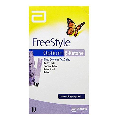 FREESTYLE Optium B-Keton Test Strips 1 x 10