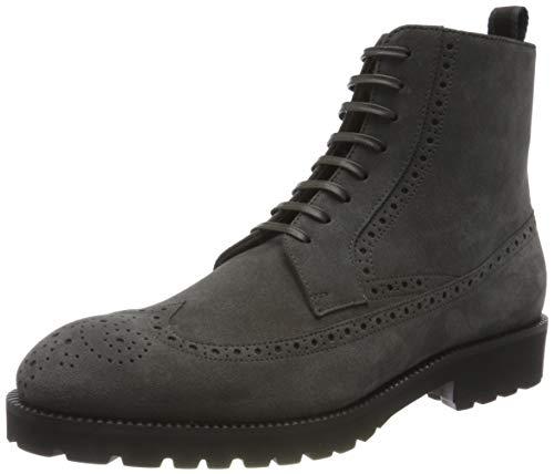 BOSS Herren Edenlug_Halb_sdwbg Half Boot, Dark Grey21, 41 EU