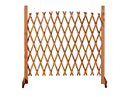 INSTANT PORTABLE FENCE - expands to fit your space. Ideal for segregating part of your garden for style or for keeping animals away. ADD SOME STYLE TO YOUR GARDEN - with the expandable fence. Freestanding making it a mobile and movable non-permanent ...