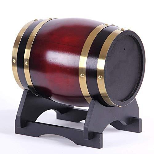 LIWine Barriles de Vino de Roble Barril De Vino, Barrica De Roble Vino Vino Blanco Vino Barril Decoración del Hogar Barril De Cerveza (Capacity : 10L, Color : D)