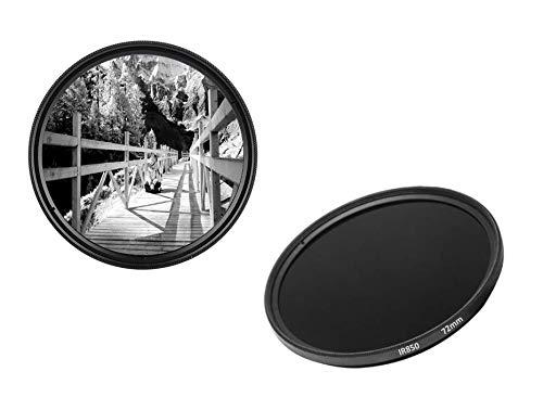 IR850 - Filtro infrarrojo (72 mm, IR 850 dHD, Filtro de Paso Digital)
