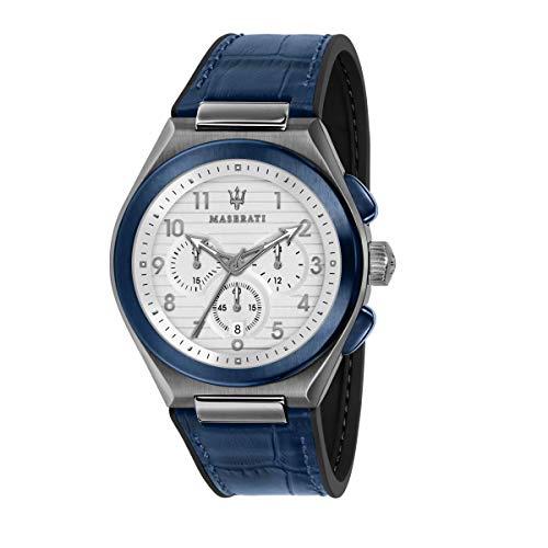 Reloj para Hombre, Colección TRICONIC, en Acero, PVD Taupe, Cuero - R