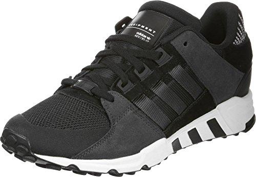 adidas Unisex-Erwachsene EQT Support RF Sneaker, Schwarz Schwarz Carbon Ftwbla, 36 EU