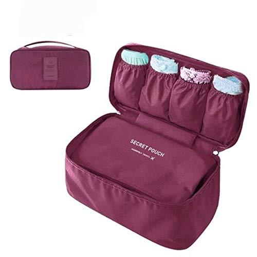 CTOBB Waterdichte BH Ondergoed Draagbare Reizen Make-up Opbergdoos Cosmetische Tas Voor Toiletruimte Organisatoren