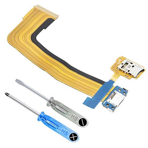 MMOBIEL Dock Connector Ladebuchse Port und SD Karten Halter kompatibel mit Samsung Galaxy TabS 10.5 inch inkl Werkzeug