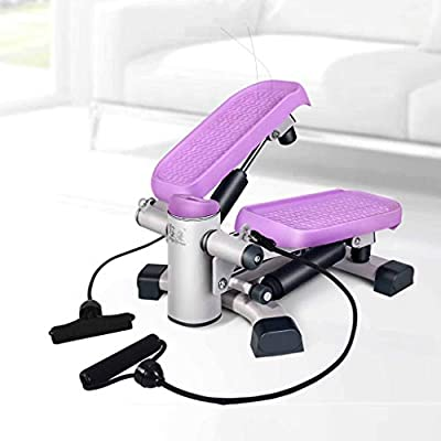 Aerobic Fitness Swing, Home LCD Weight Loss Machine, Large Non-Slip Pedal and Multi-Function Display, Suitable for All Fitness Groups