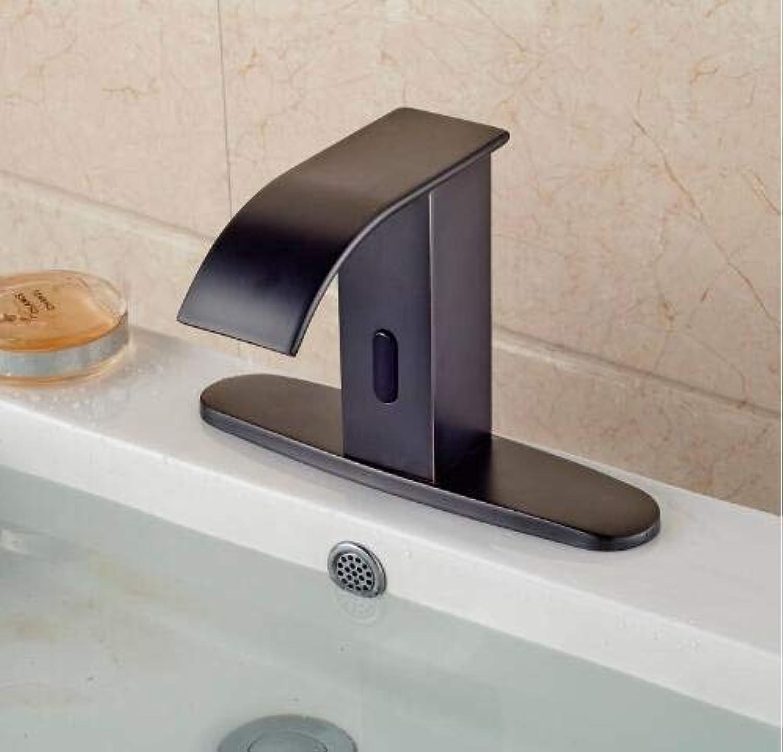 Wasserhahn Waschtisch Armatur Badarmaturen Küche Armaturl Eingerieben Broze Basin Wasserhahn Einhebel Ein Loch Wasserhahn Wasserfall Auslauf Mischbatterie