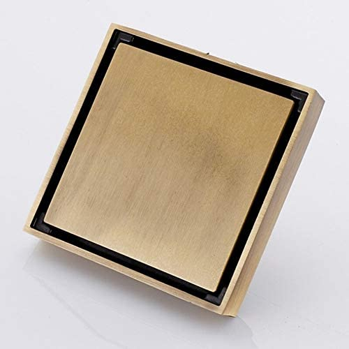 zxb-shop Floor Drain Drains Black Shower Brass Choice shipfree 10×10 cm Dr
