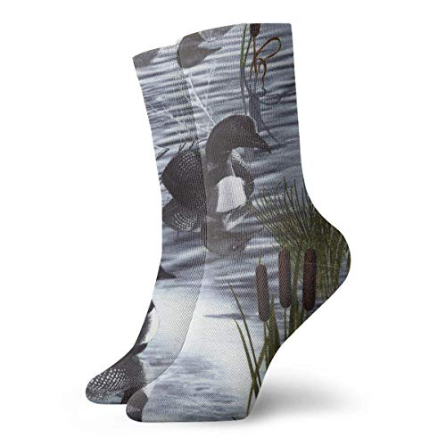 Calcetines Casuales Loons Duck Animal Printed Sport Athletic Calcetines Calcetines de compresión Calcetines...