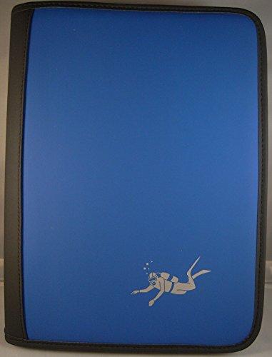 Big Scuba - Cuaderno de registro con parte interior, diseño de buceo, perforado PADI