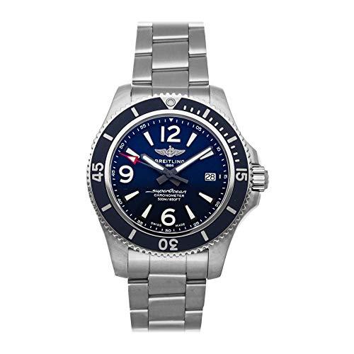 Breitling Superocean Reloj mecánico (automático) para hombre con esfera azul A17366D81C1A1
