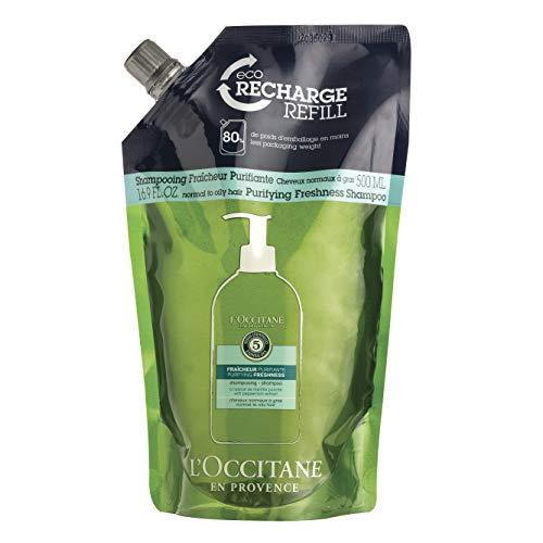 L'Occitane Nachfüllpackung Revitalisierende Frische Shampoo er Pack( x )
