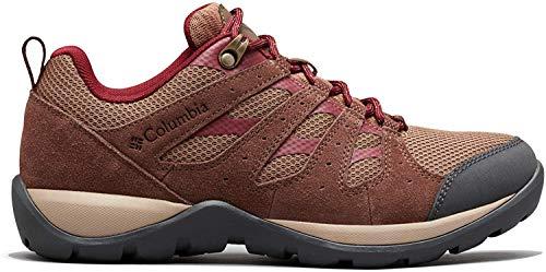 Columbia Women's Redmond V2 Hiking Shoe, Dark Truffle, Rich Wine, 10.5 Regular US