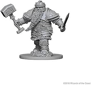 NECA Nolzur's Marvelous Unpainted Minis: Dwarf Male Fighter