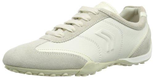 Geox Damen D SNAKE X Sneakers, Elfenbein (Off WHITEC1002), 40 EU