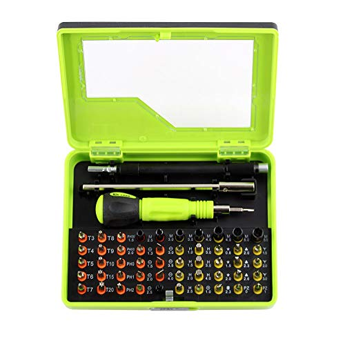 Herramientas De Reparación De Bits Múltiples, Juego De Destornilladores Torx 53in1 Para Electrónica, PC, Reparación De Portátiles, Herramienta De Precisión, Destornillador Portátil