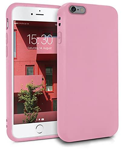 MyGadget Funda para Apple iPhone 6 Plus / 6s Plus en Silicona TPU - Carcasa Slim & Flexible - Case Resistente Antigolpes y Anti choques - Protectora - Rosa