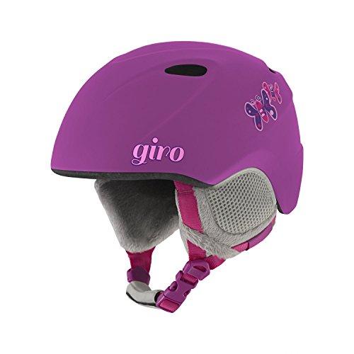 Giro Erwachsene Slingshot Ski Und Snowboard Helme, Matte Berry Butterfly, M/L