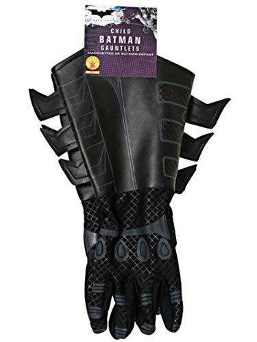 Rubie 's Offizielles Batman Handschuhe, Kind Kostüm–EINE Größe