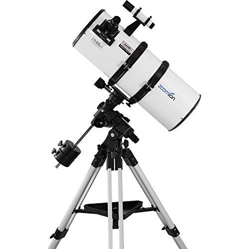 Zoomion Genesis 200/800 EQ-4 telescopio astronómico para Adultos y Adolescentes y Principiantes astronómicos