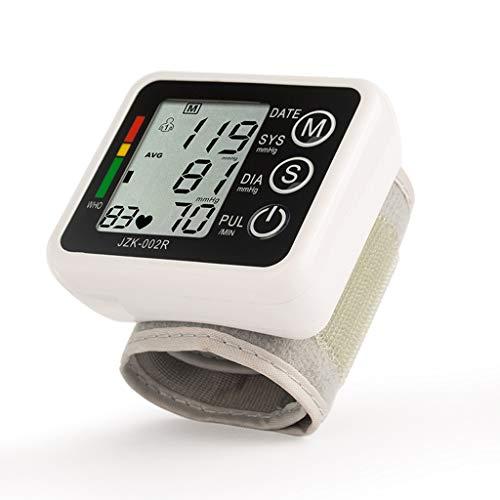 Monitor Digital Automático De La Hipertensión Esfigmomanómetro Tipo De Pulsera Electrónica con Monitor De Ritmo Cardíaco del Pulso Casa Gran Pantalla