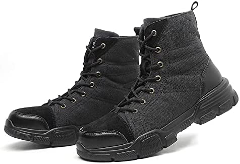 Tentius Steel Toe Shoes Work Shoes Industrial Safety Construction Lightweight Protective Shoes