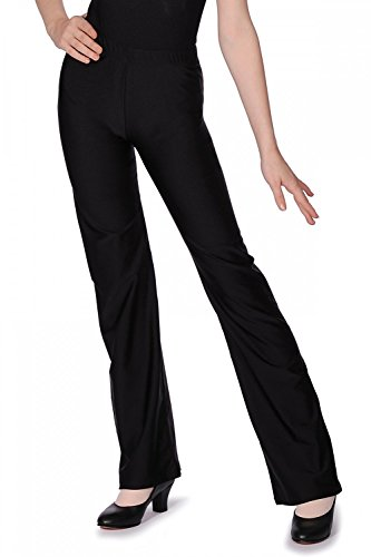 Roch Valley dames Nylon/Lycra Flared Been Jazz Broek