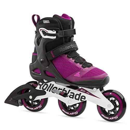 Rollerblade Damen MACROBLADE 100 3WD W Inline-Skate, VIOLETT/SCHWARZ, 255