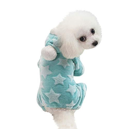 Ropa para Mascotas,Dragon868 Hermosa Ropa de Invierno Caliente Cachorro Perro Gato con Capucha Capa aparece