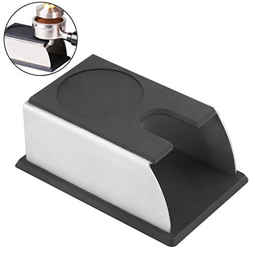 Schwarze Kaffeetamper Basis Edelstahl rostfrei abnehmbar Kaffeepulver Maker Rack Espresso Kaffee Tamper Ständer für Kaffeemaschine
