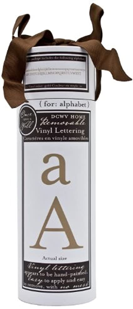 Die Cuts With A View Vinyl Gold Times Alphabet, Large