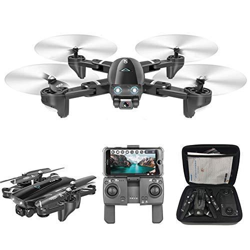 QIXIAOCYB 5.8g WiFi. FPV. con 72. 0P HD. Fotocamera Video Video Dual GPS Posizionamento Drone Pieghevole Drone RC for Adulti RC. Quadcopter 40 Minuti Lungo Tempo di Volo Smart Torna a casa
