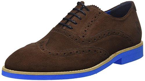 El Ganso M, Zapatos de Cordones Oxford Hombre, Marrón (Marrón), 40 EU