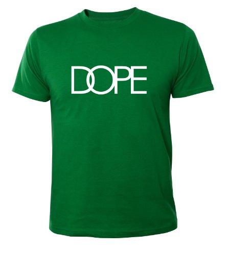 Mister Merchandise Homme Cool Chemise T-Shirt DOPE , Size: XL, Color: Vert