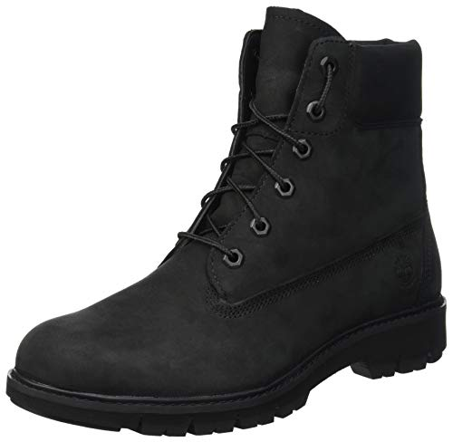 Timberland Damen Lucia Way 6 Inch Waterproof Stiefel, Schwarz Waterbuck Black Out 1, 39 EU