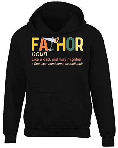 Fathor Carpenter - Divertido regalo de tendencia vintage - Negro - XX-Large