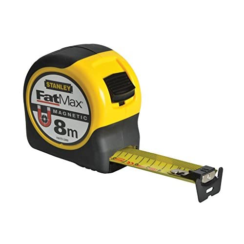 Stanley FMHT0-33868 Flessometro Magnetico, 8m