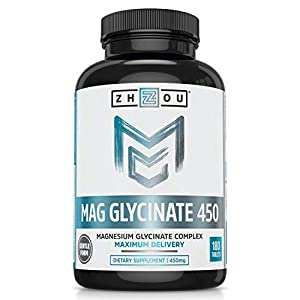 Better Magnesium. Zhou offers one of the highest dosages and superior forms of magnesium availablea magnesium glycinate complex. Unlike standalone magnesium citrate, Zhou's Mag Glycinate 450 complex is formulated with glycine to be easier on your sto...