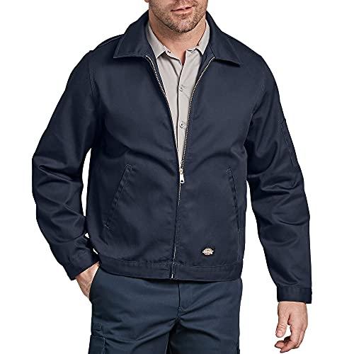Dickies mens Unlined Eisenhower Jacket, Dark Navy, Large/Regular