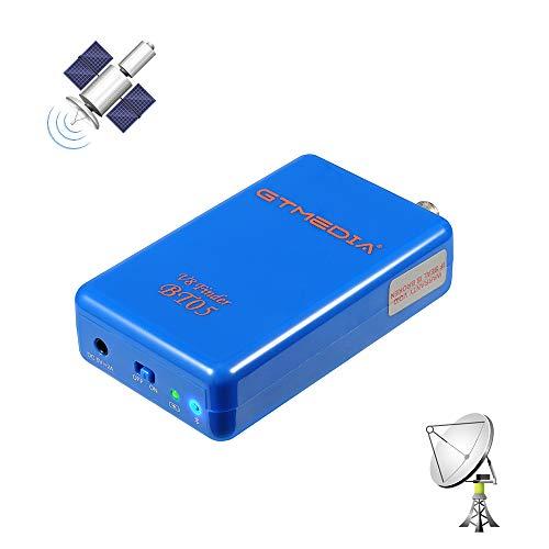 GT MEDIA BT05 - Localizador de Satélites con BT- Buscador Parabólico de Antena Satelital para Buscar Señales Satelitales - Medidor Posicionamiento Ajuste óptimo de Antenas Parabólicas - Recargable