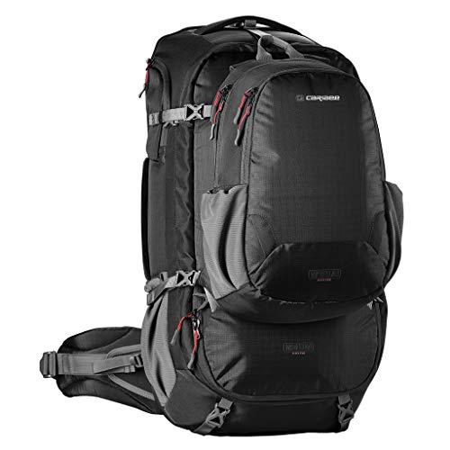 Reiserucksack - Caribee Magellan 65L (Backpack mit RFID Schutz) Modelljahr 2019 - Schwarz