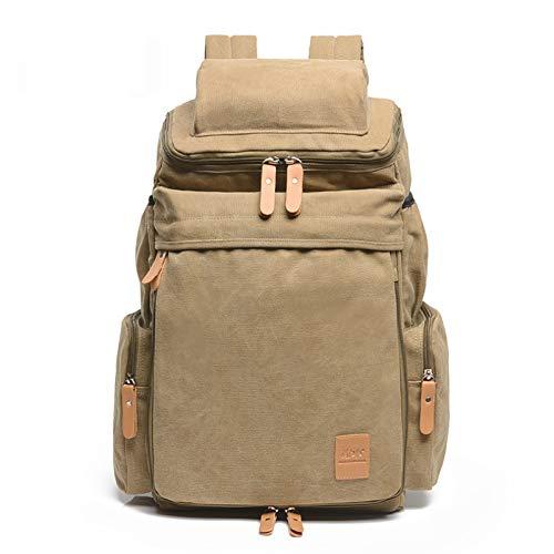 Canvas-Rucksack, Training, Gepäckrucksack, Herren-Denim, Kurztrip, große Kapazität