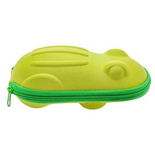 NAT0I Happy Frog Glasses Case - Green