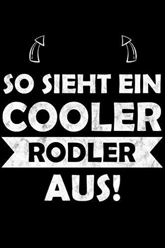 So sieht ein cooler Rodler aus: Wintersport Schlittenfahren So sieht ein cooler Rodler Notizbuch Essensplaner mit Einkaufsliste 49 Wochen 100 Seiten ca Din A5
