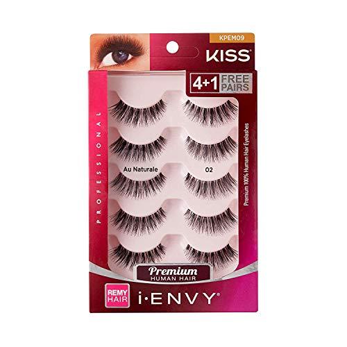 Kiss I Envy Au Naturale 02 Value Pack 4+1 Lashes